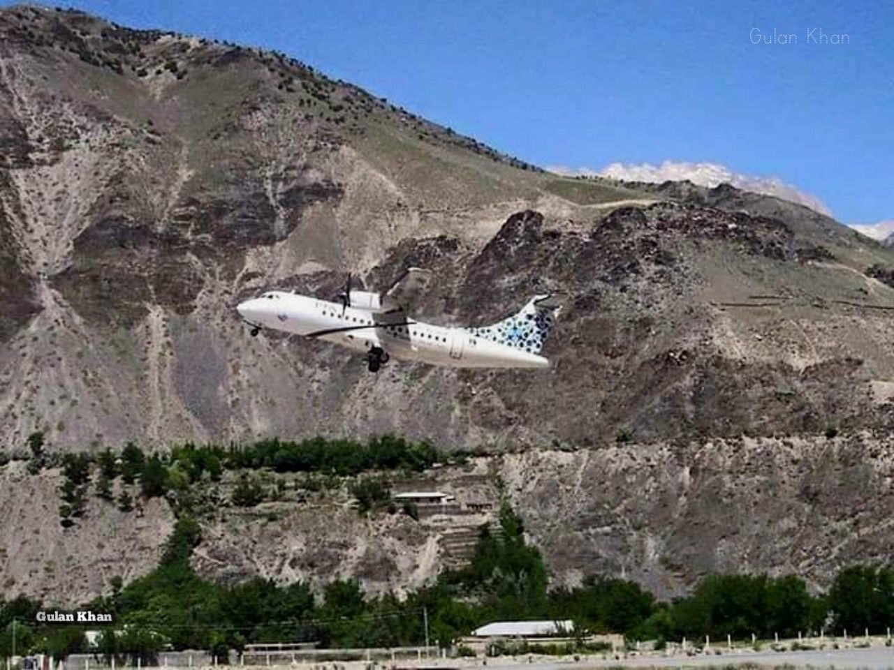 PAKISTAN, ATR the most commonly used aeroplane for Chitral Airport, Kpk,  Pakistan | Natural landmarks, Mount rushmore, Landmarks