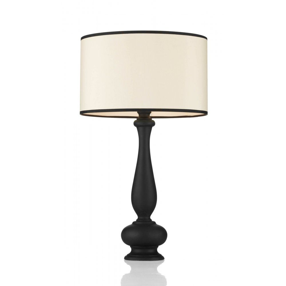 The david hunt lighting collection minstrel traditional black the david hunt lighting collection minstrel traditional black table lamp geotapseo Image collections