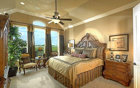 The Villas At Craig Ranch Master Bedroom Mckinney Tx By K Hovnanian Homes