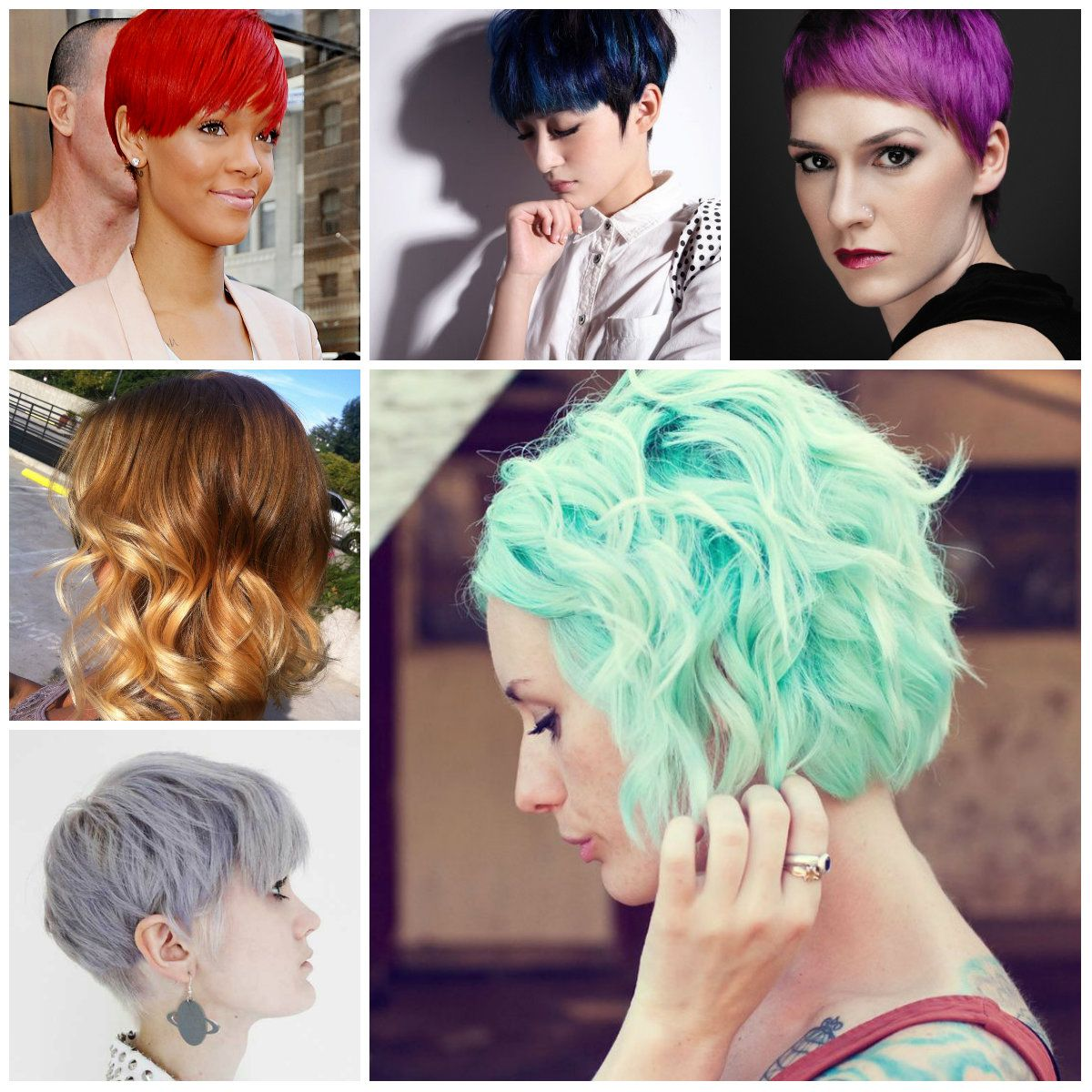 Brown hair color hair colors 2017 trends and ideas for your hair - Hair Color Ideas For Short Hair 2016 Hair Color Trends 2016