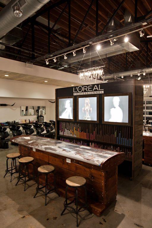 Environments fin art co color bar salons hair salon interior salon shop salon color bar - Bar salon design ...