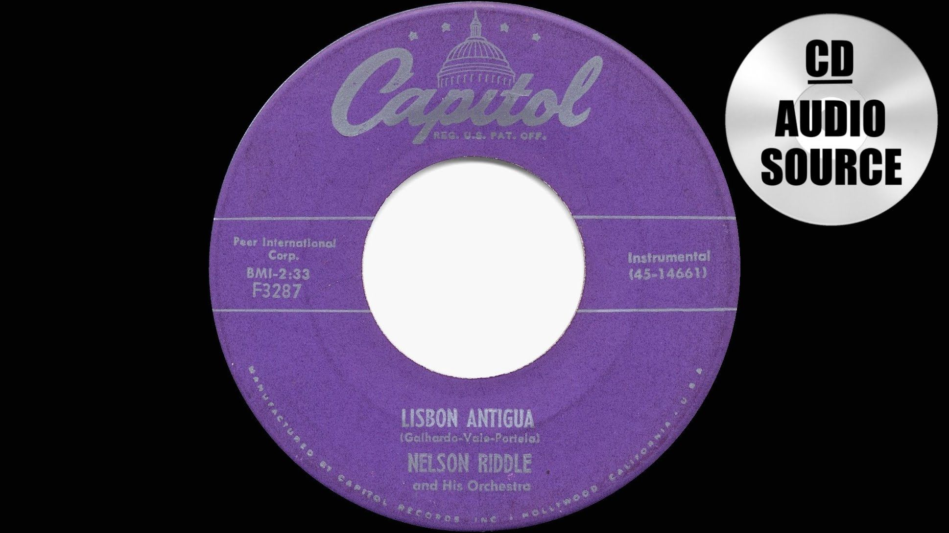 Lisbon Antigua, Nelson Riddle Orchestra, 1956 Uncle Tony