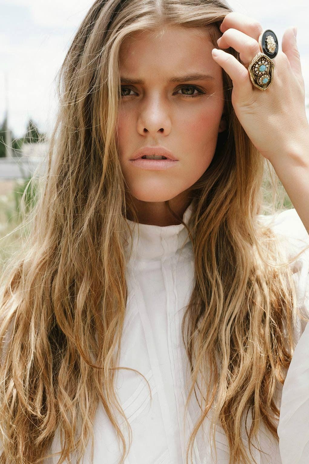 Beauty| Nina Agdal by Gregory Blake 2013