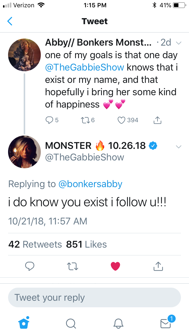 Pin By Let Me Slyther In On Gabbie Hanna Gabbs My Goals Names
