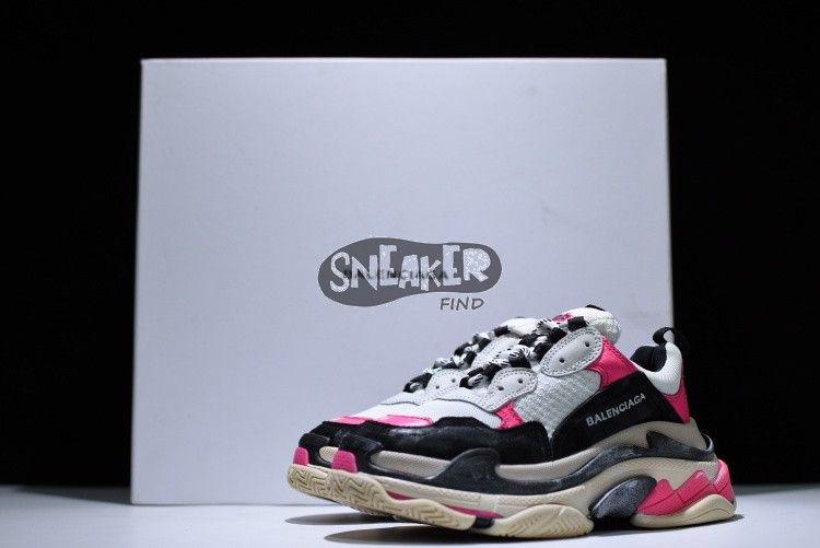 Balenciaga Triple S Sneaker Pink Black