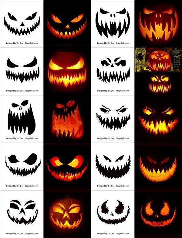 Legend 290 Printable Free Stencils Patterns Drawings Faces And Printable Halloween Pumpkin Ideas Drawings Faces Legend Patt Scary Halloween Pumpkins Scary Pumpkin Carving Halloween Pumpkin Carving Stencils