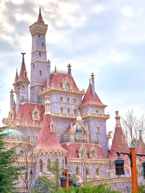 Beauty and the Beast Castle Is Breathtakingly Beautiful