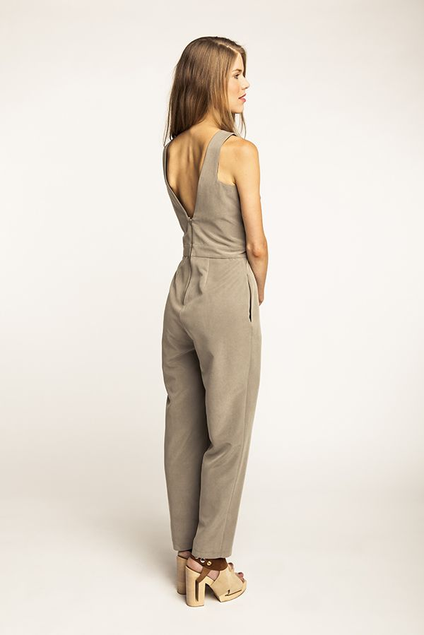 Ailakki Cross Front Jumpsuit | BX | Pinterest | Vestidos, Costura ...