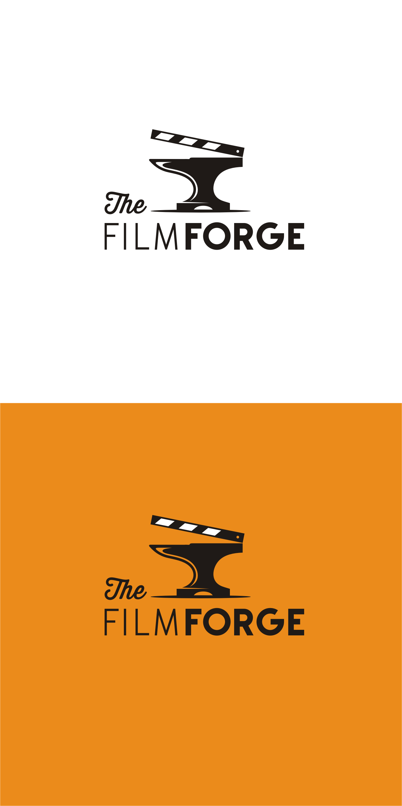 Logo Design By Zvucifantasticno For The Film Forge A Video Production Company Entertainment Branding Media Film Company Logo Film Logo Logo Design