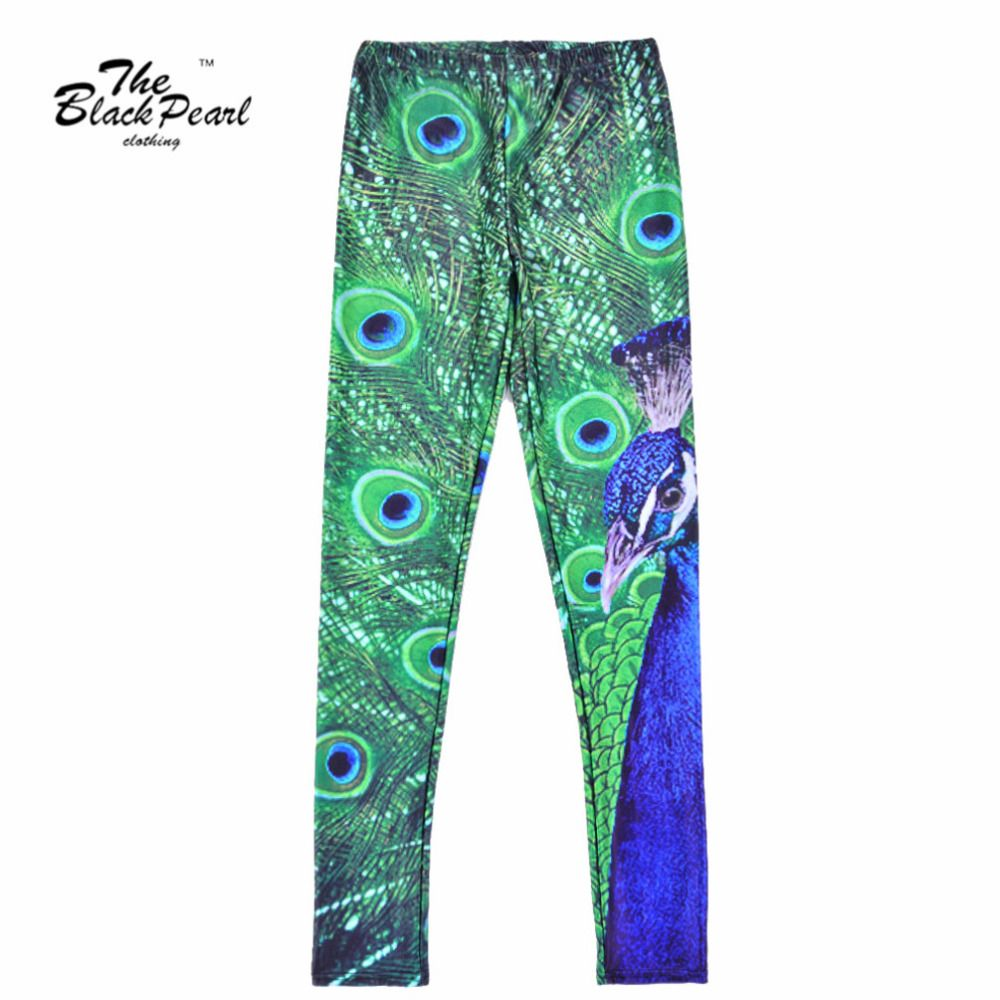 00ccee76483194 Sexy Lady woman stretch Fashion leggings Jeggings wholesale peacock Print  Slim Sports Pants Fitness legging Only $19.99 => Save up to 60% and Free  Shipping ...
