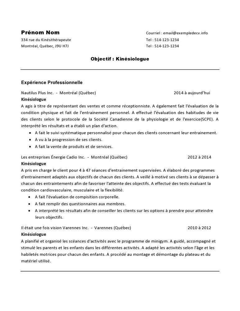 Exemple Cv Reference A Imprimer Exemple Cv Reference Exemple