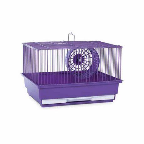 Prevue Pet One Story Hamster Gebil Home Purple One Size