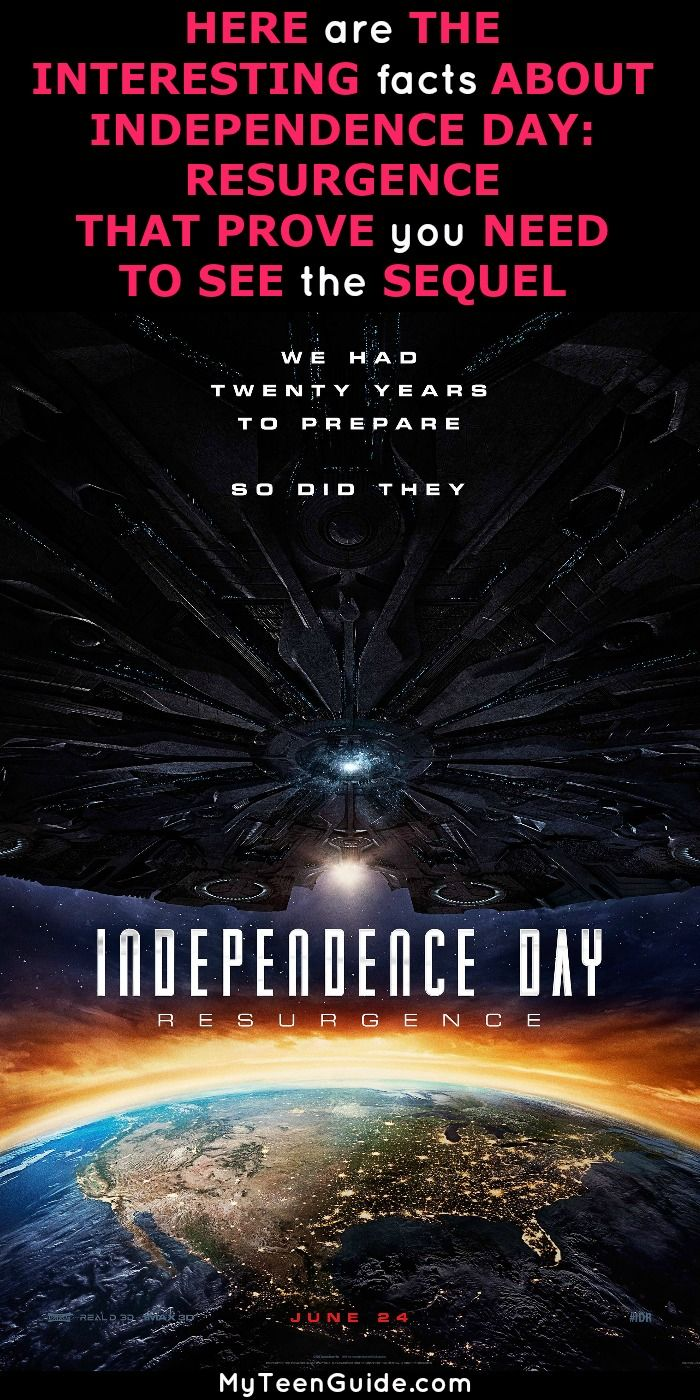 71e0abad Telling you all about Independence Day Resurgence facts is a day I thought  would never come. When it comes to science fiction, disaster movies, ...
