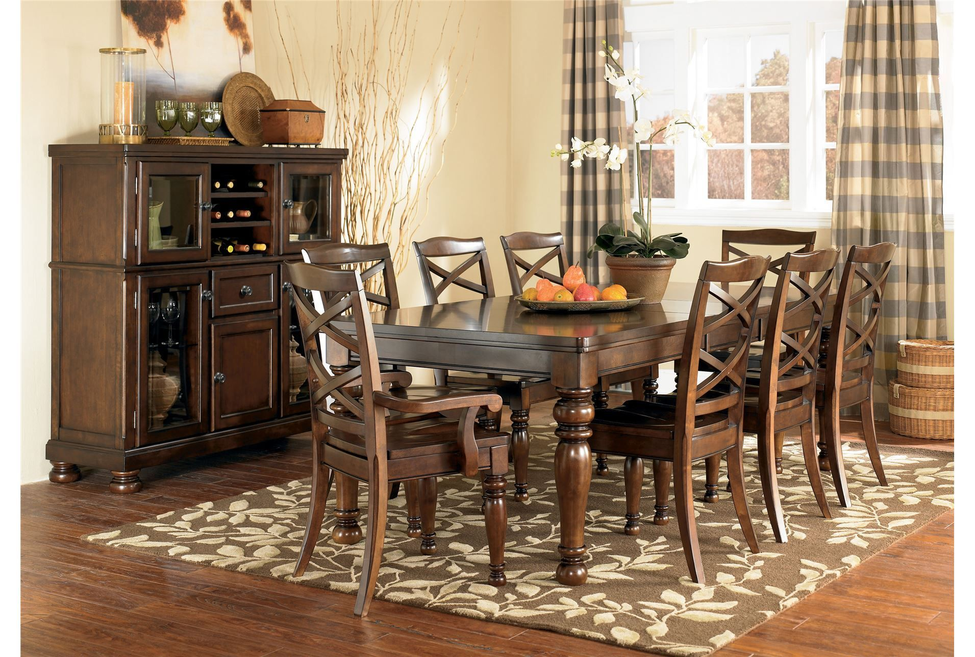 Porter 7 Piece Dining Set  Living Spaces Room Ideas And Spaces Best Living Spaces Dining Room Design Inspiration