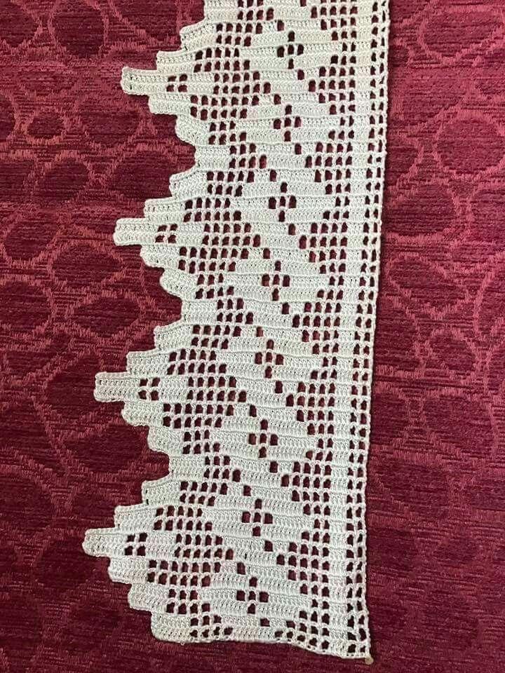 bildergebnis f r ganchillo filet h keln pinterest gardinen h keln und h kelborten. Black Bedroom Furniture Sets. Home Design Ideas