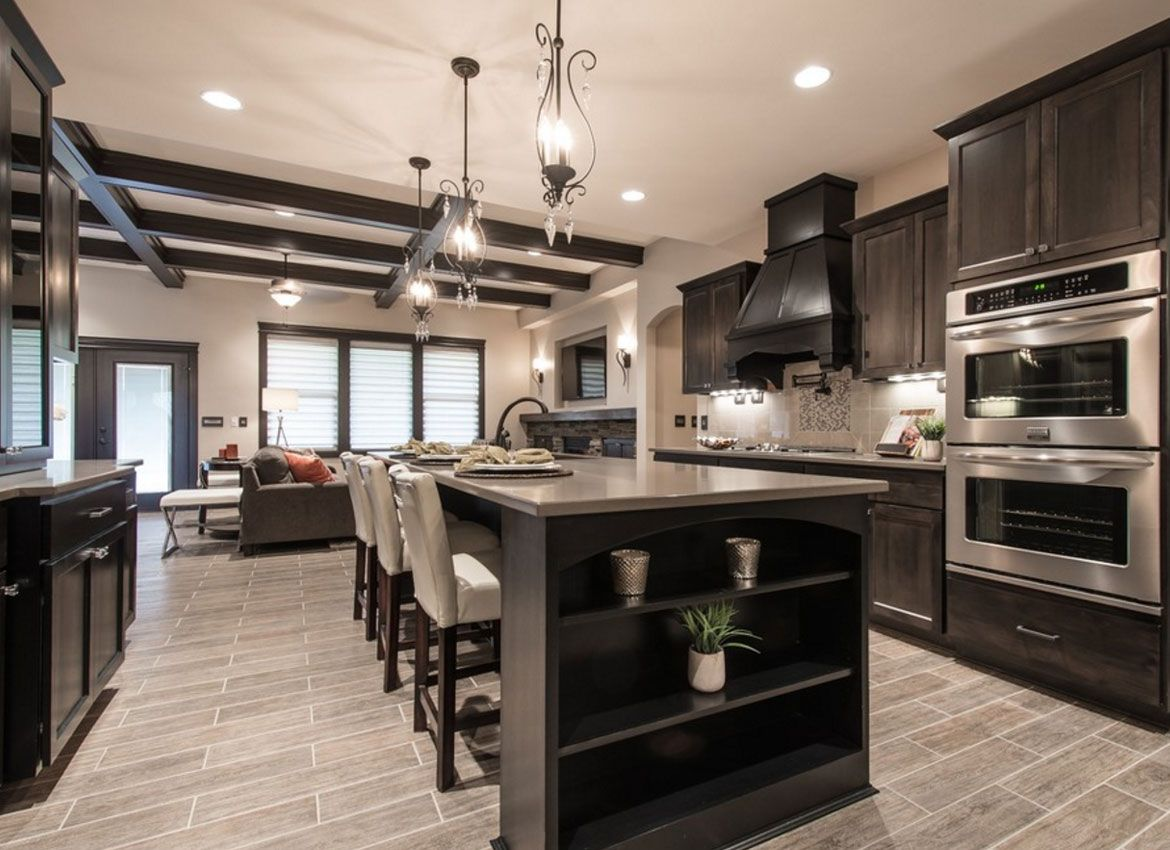 30 Classy Projects With Dark Kitchen Cabinets Dark Wood Kitchen Cabinets Dark Kitchen Dark Wood Kitchens