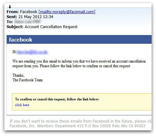 Facebook Account Cancellation Malware Poses As Adobe Flash Update
