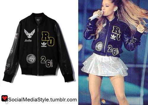 Grande's Rita Adidas P7pwftqrv Jacket Originals Ora Ariana Bomber XOPkiuZ