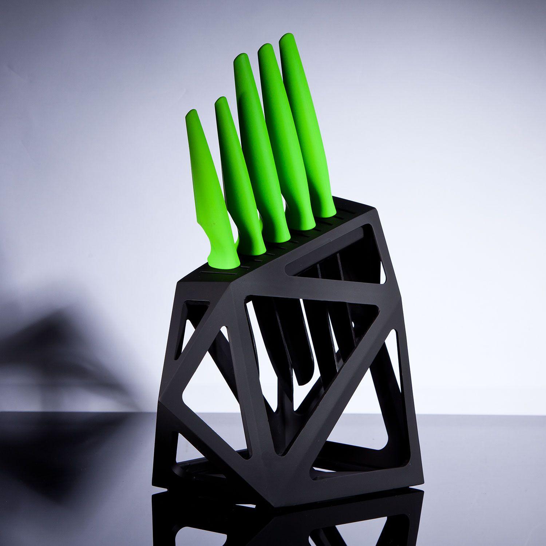 3 Ceramic Lime 5 Piece Set + Knife Block \u003c3 | /// THE BEAUTY OF ...