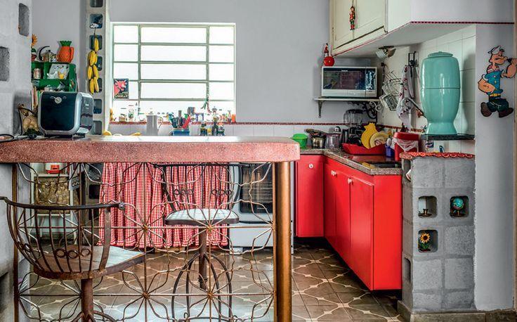 Casa dos Sonhos - Decoração com grades antigas - Ricota Não Derrete