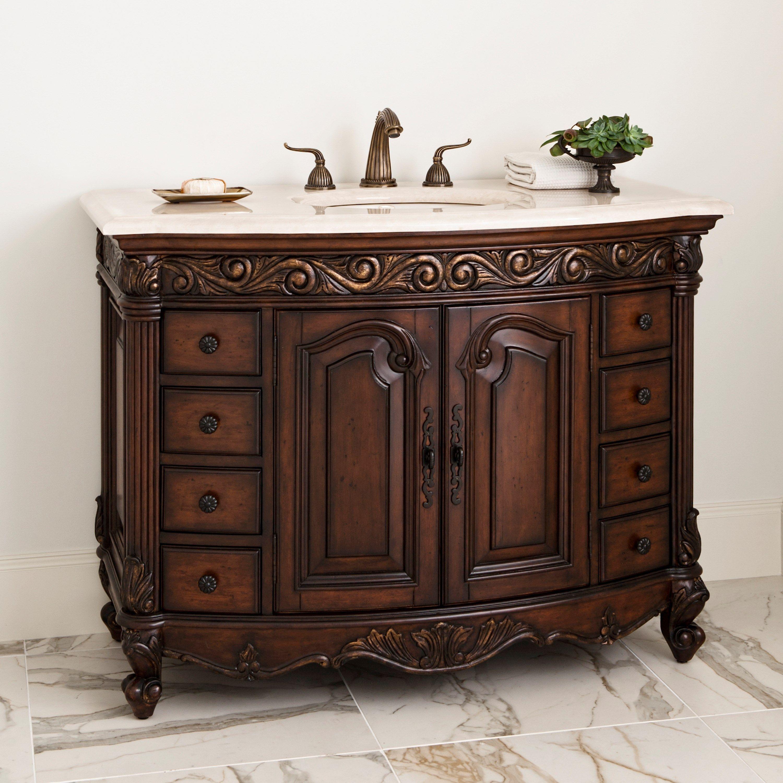 Great PROVINCIAL MEDIUM SINK CHEST   Ambella Home #Vanity #Decor #Bathroom  #Sinkchest