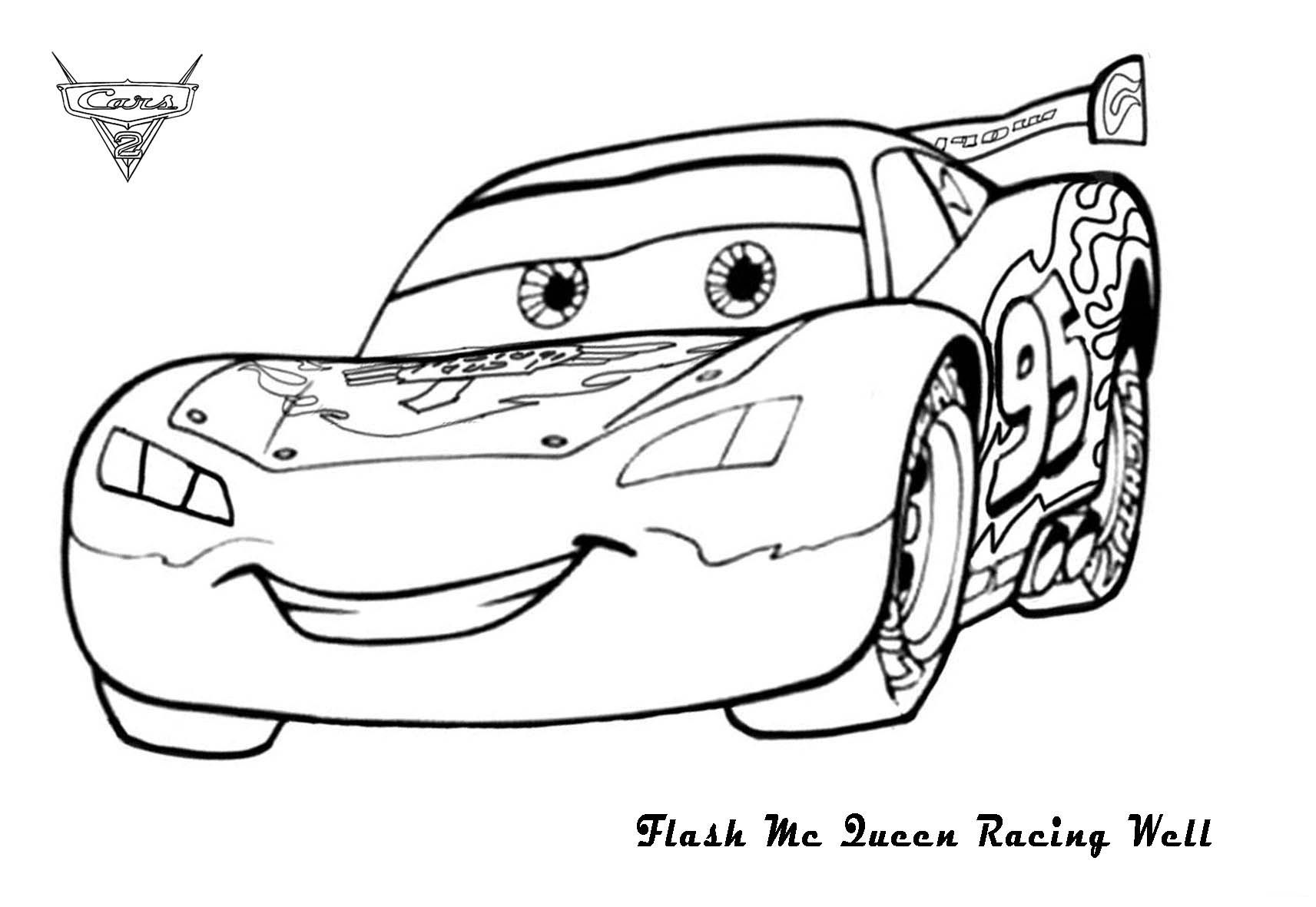 Dessin a colorier cars coloriages enfant pinterest coloriage coloriage enfant et flash - Coloriage cars a imprimer a4 ...