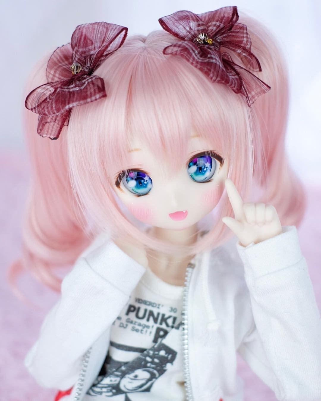 Kawaii anime doll from instagram dollfie dream ddh dd