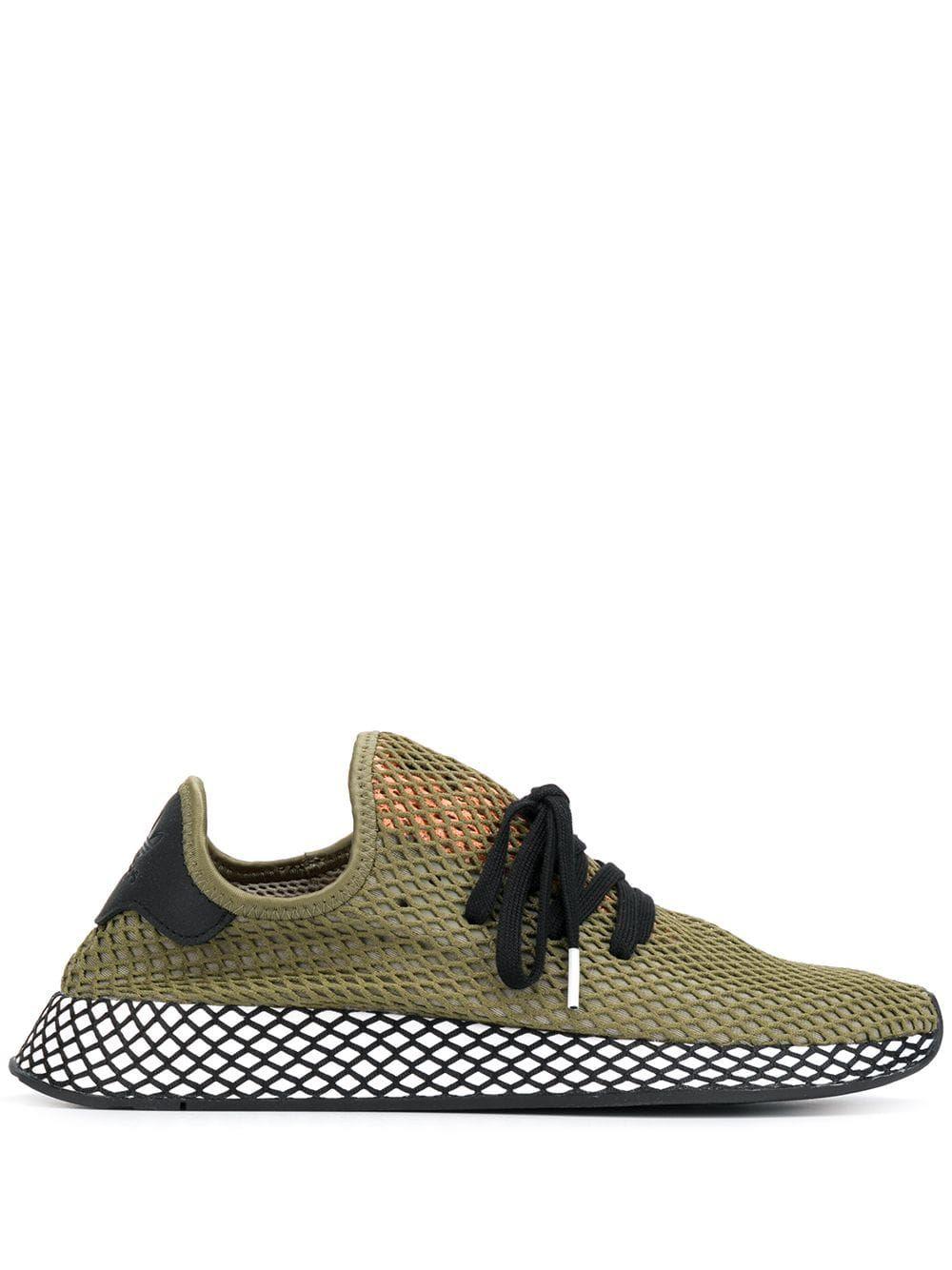 ac1640306 ADIDAS ORIGINALS ADIDAS DEERUPT RUNNER SNEAKERS - GREEN.  adidasoriginals   shoes