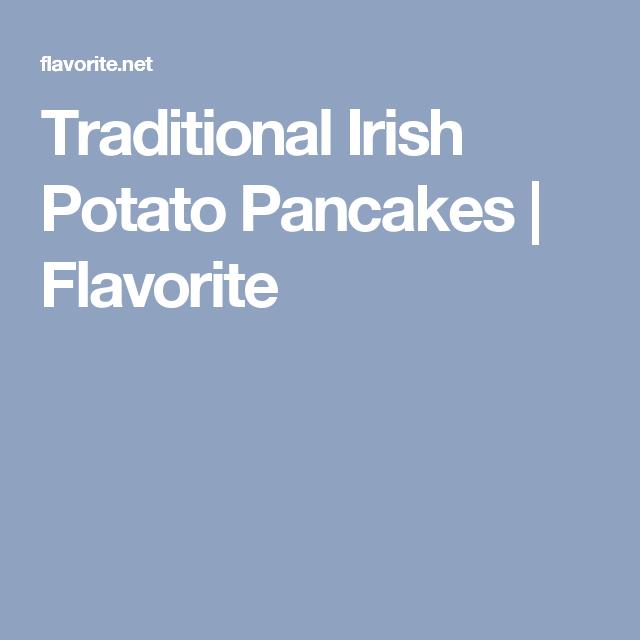 Traditional Irish Potato Pancakes | Flavorite