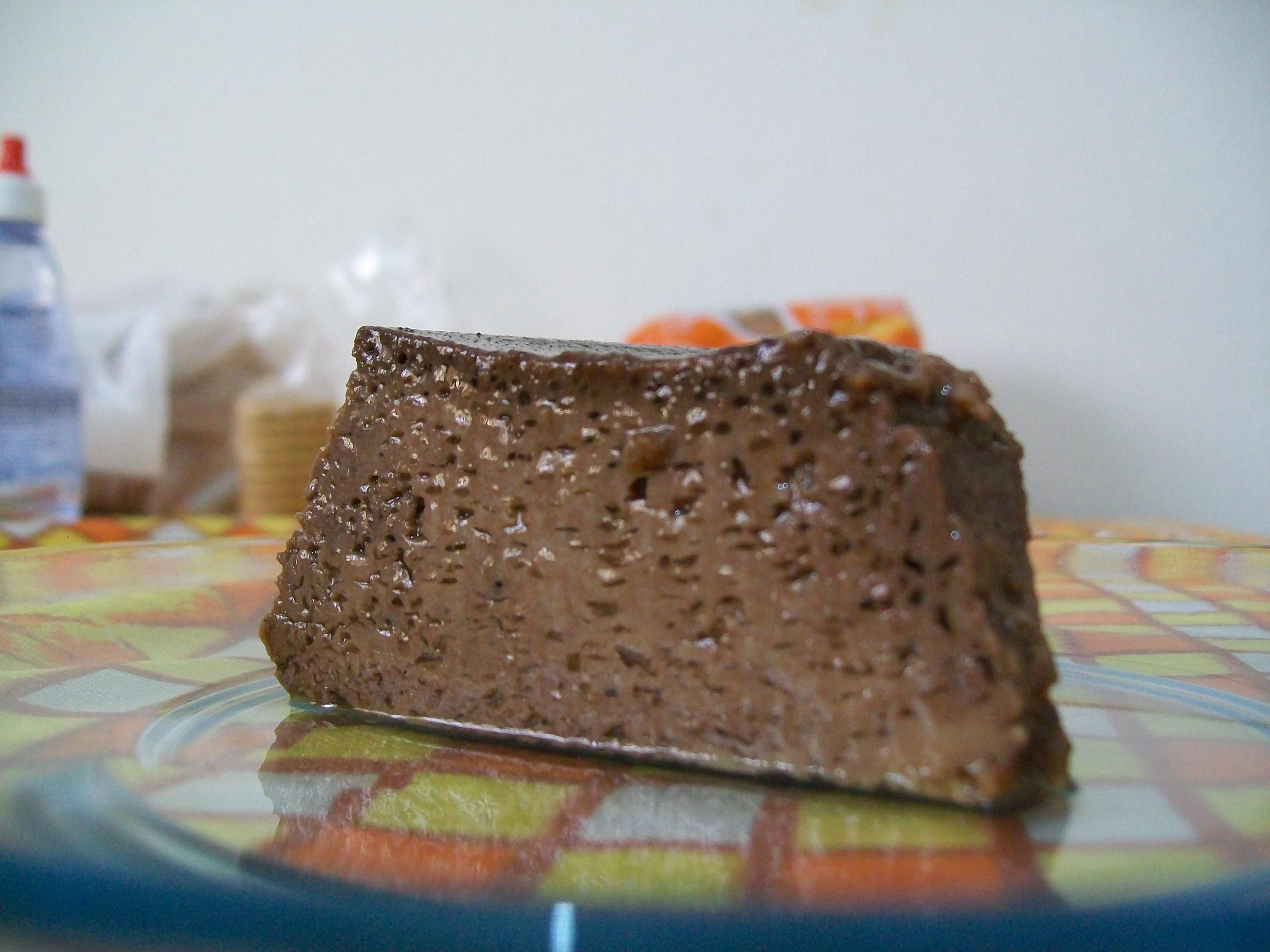 Pudim aeradinho de chocolate