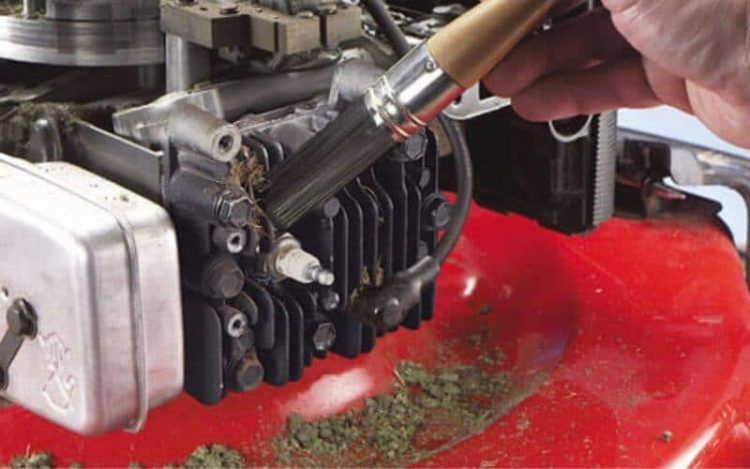 How To Clean A Carburetor On A Lawn Mower Without Removing It Urban Organic Yield In 2020 Lawn Mower Repair Lawn Mower Lawn Mower Maintenance