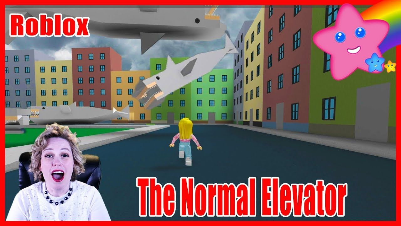 Sharks Are Falling From The Sky The Normal Elevator Game Roblox