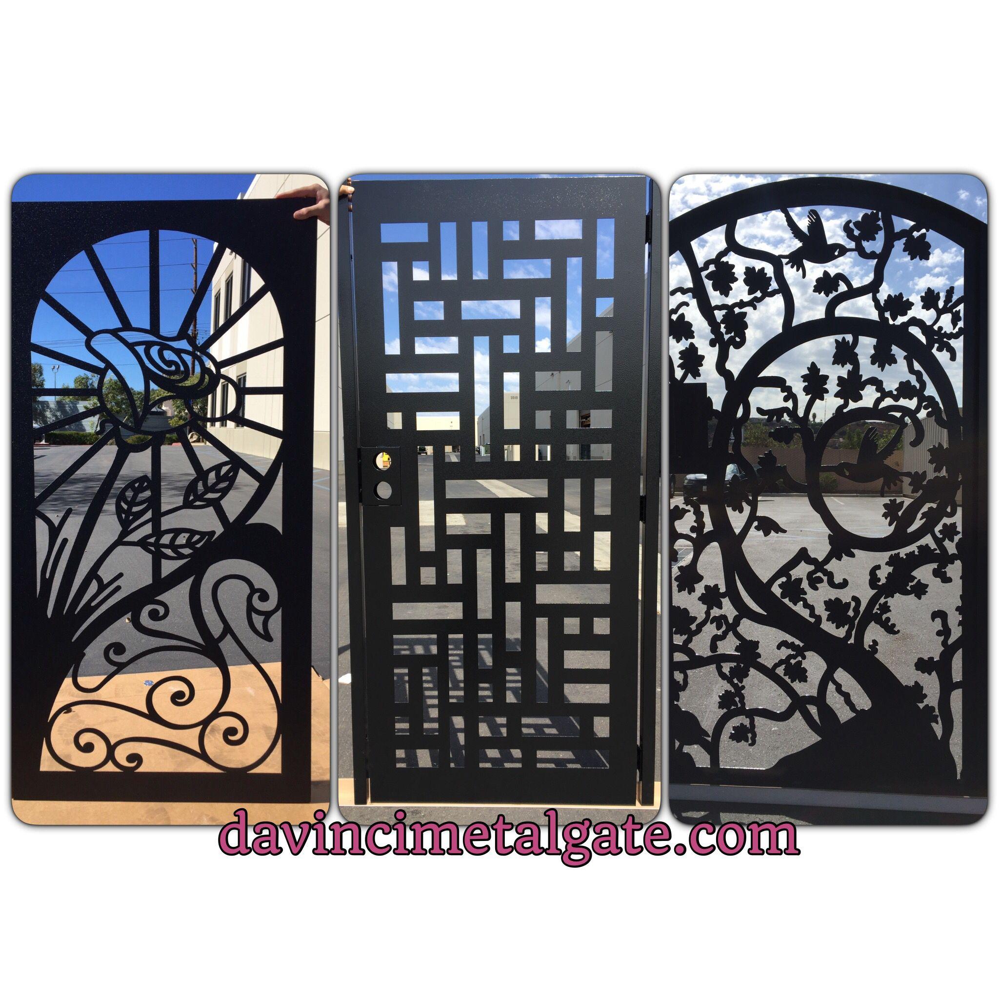 Davincimetalgate Com Steel Gate Design Gate Design Metal Gates