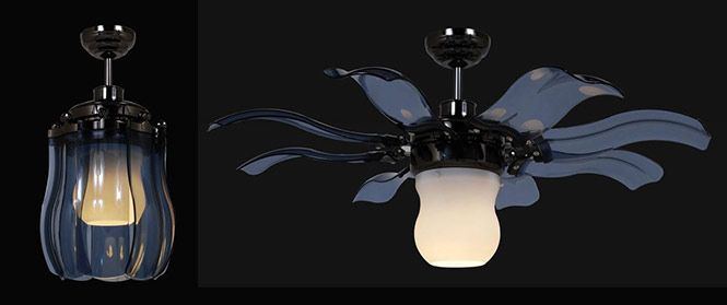 Fiore Fan Similar In Concept To The Fanaway Fan, But Instead Of Retractable  Blades,
