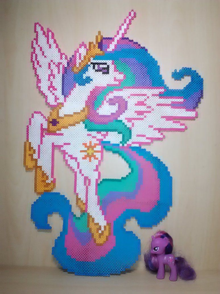Fuse Box Templates Online 21 Inch Mlp Princess Celestia Perler Beads By Perler Pop