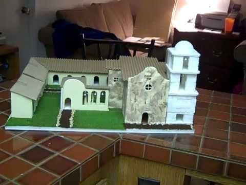 The Making Of Mission San Juan Capistrano Youtube Mission Models