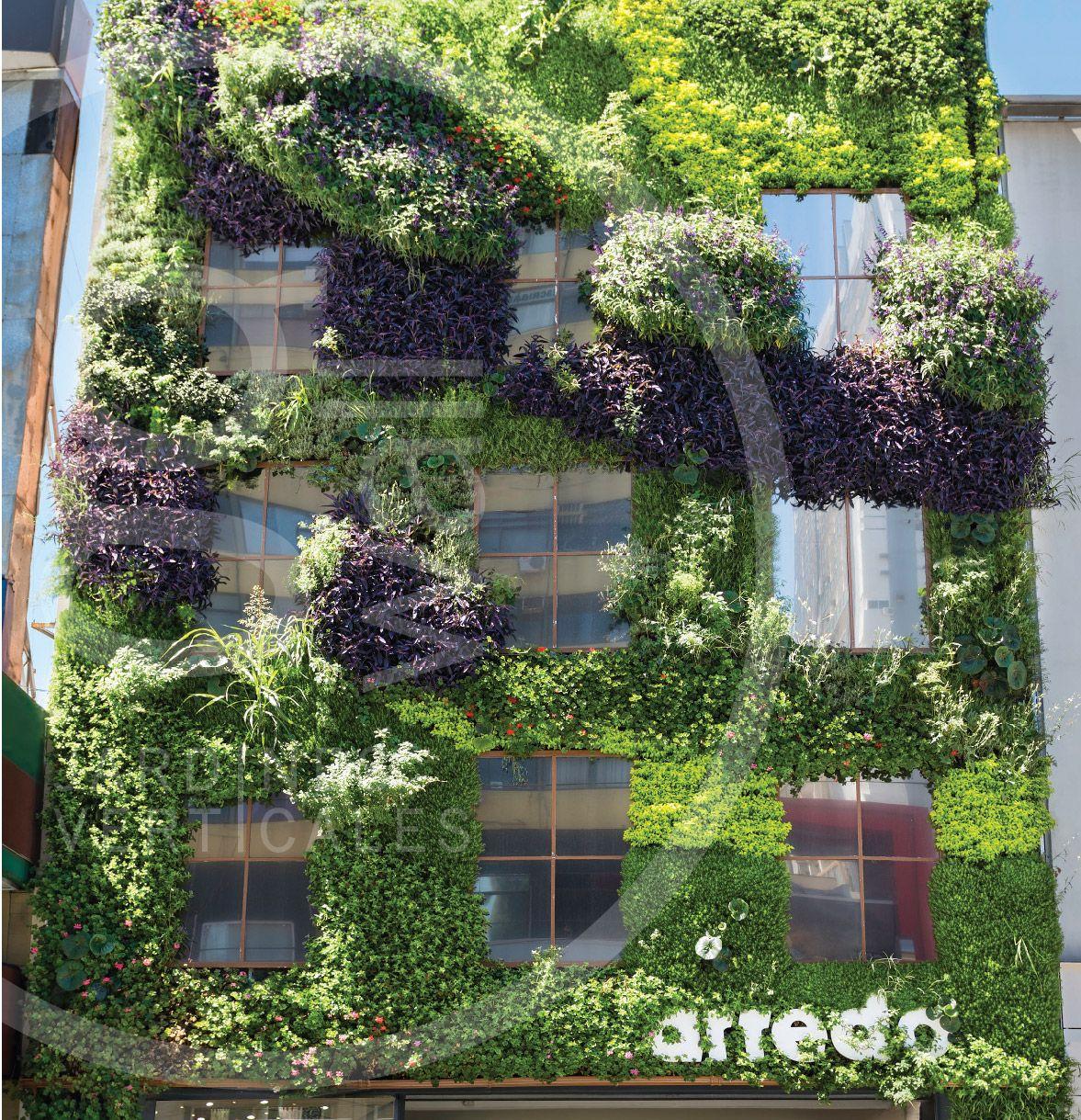 Jard n vertical arredo av cabildo 2200 buenos aires for Jardines verticales buenos aires