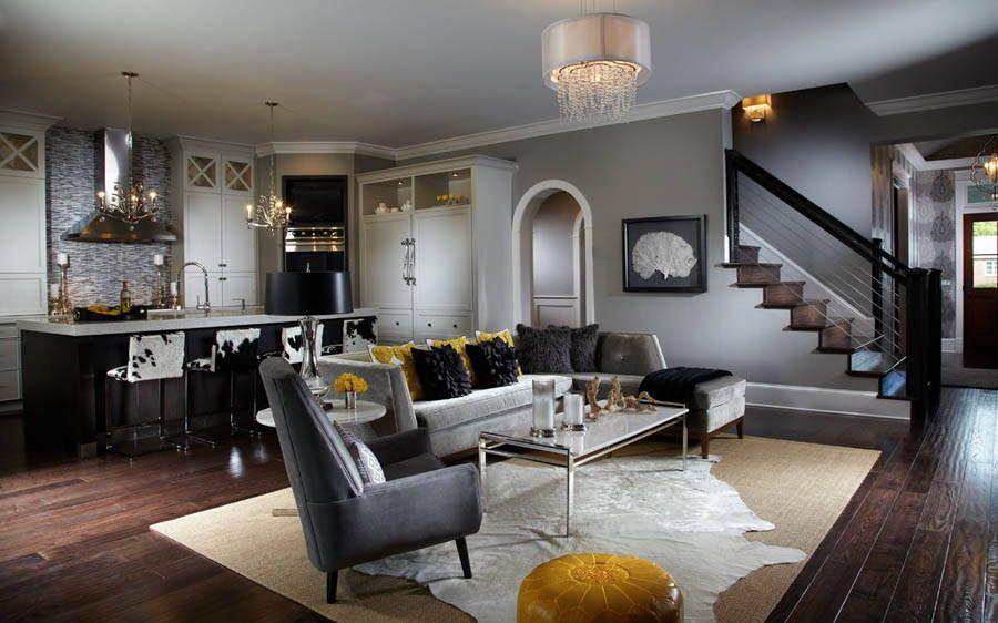 Contemporary Living Room | Free Style Interiors | Bonita Springs Florida  Interior Designers