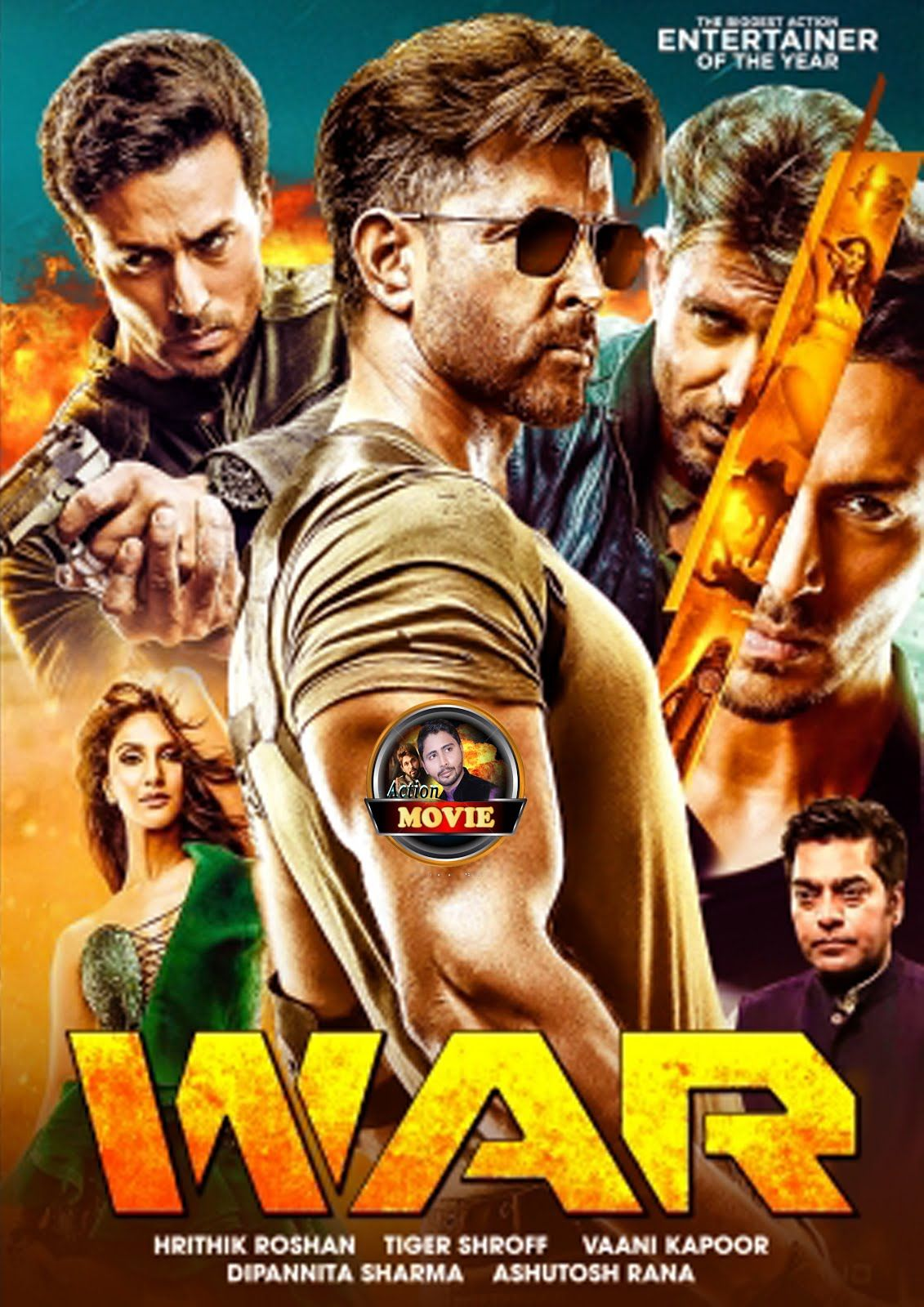 War 2019 Hindi Movie 400mb Pre Dvdrip 480p Hindi Movies Best Bollywood Movies Hindi Bollywood Movies