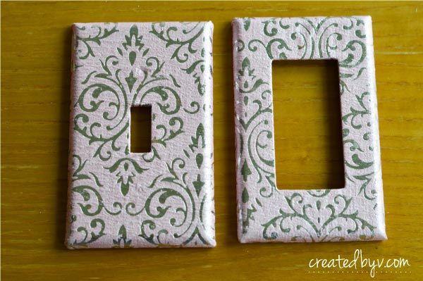 How To Decorate Your Switch Plates Light Switch Covers Diy Decorative Switch Plate Plate Covers Diy