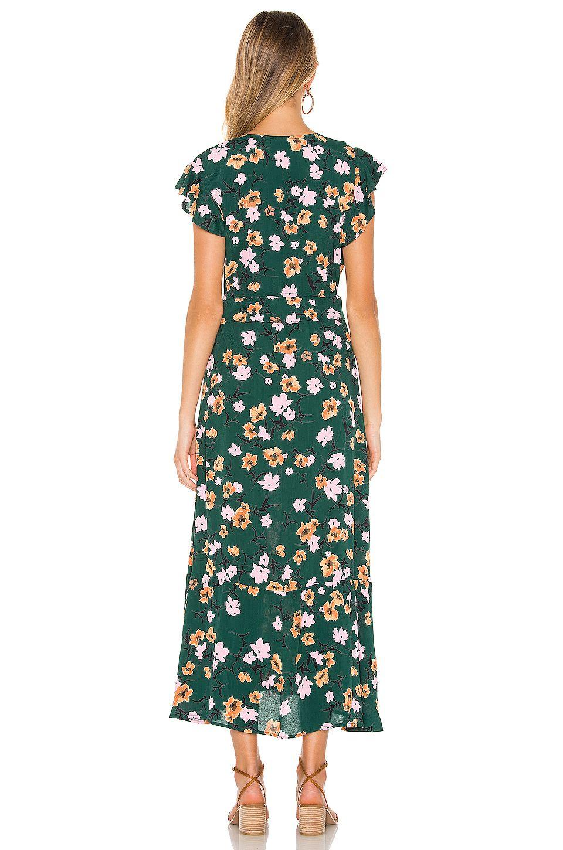 FLYNN SKYE Ophilia Midi Dress in Emerald City, #Affiliate, #Sponsored, #Ophilia, #Midi, #City, #SKYE