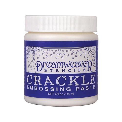 Dreamweaver - Crackle Embossing Paste