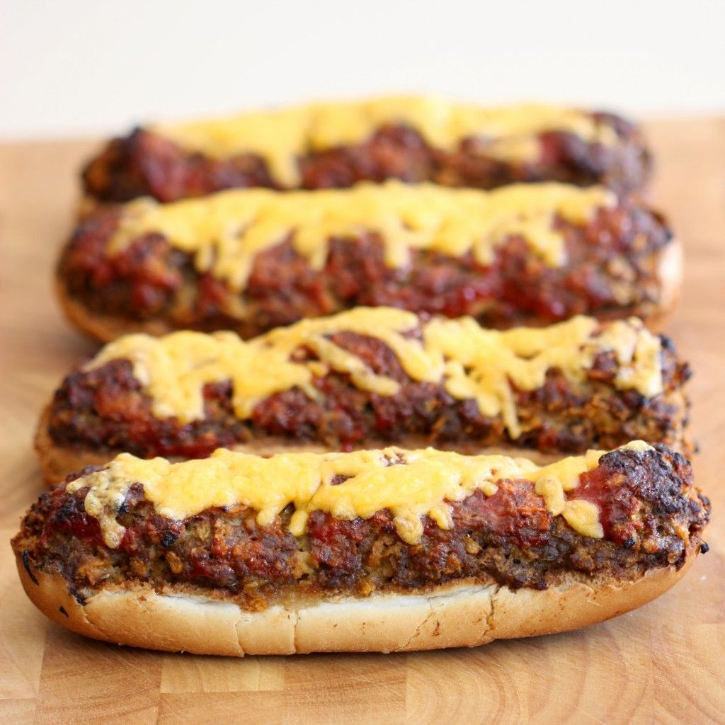 """16 Insanely Healthy Recipes That Are Delicious: Long Boy """"Burgers""""-Insanely Delicious Meatloaf Recipes"""