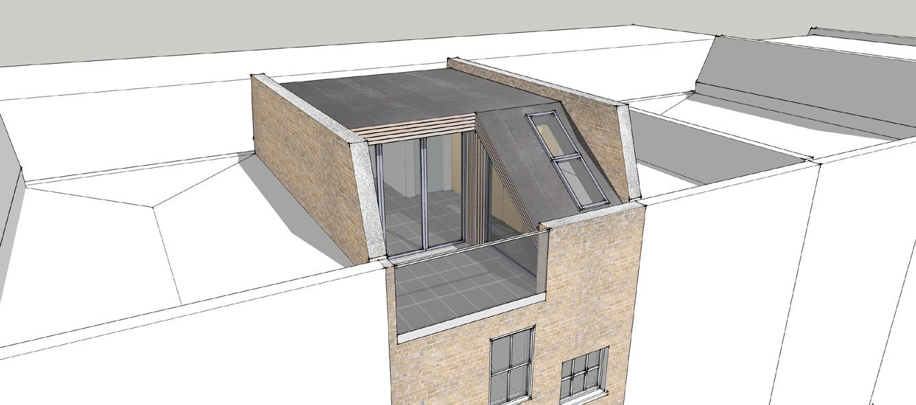 Mansard Roof Balcony (With images) Mansard roof, House