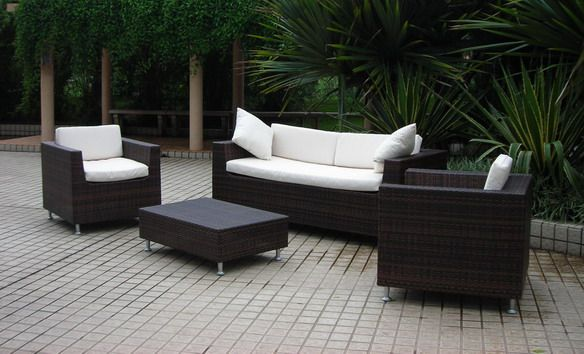 Outdoor Resin Wicker Furniture SK China Rattan Furniture - Outdoor patio furniture wicker
