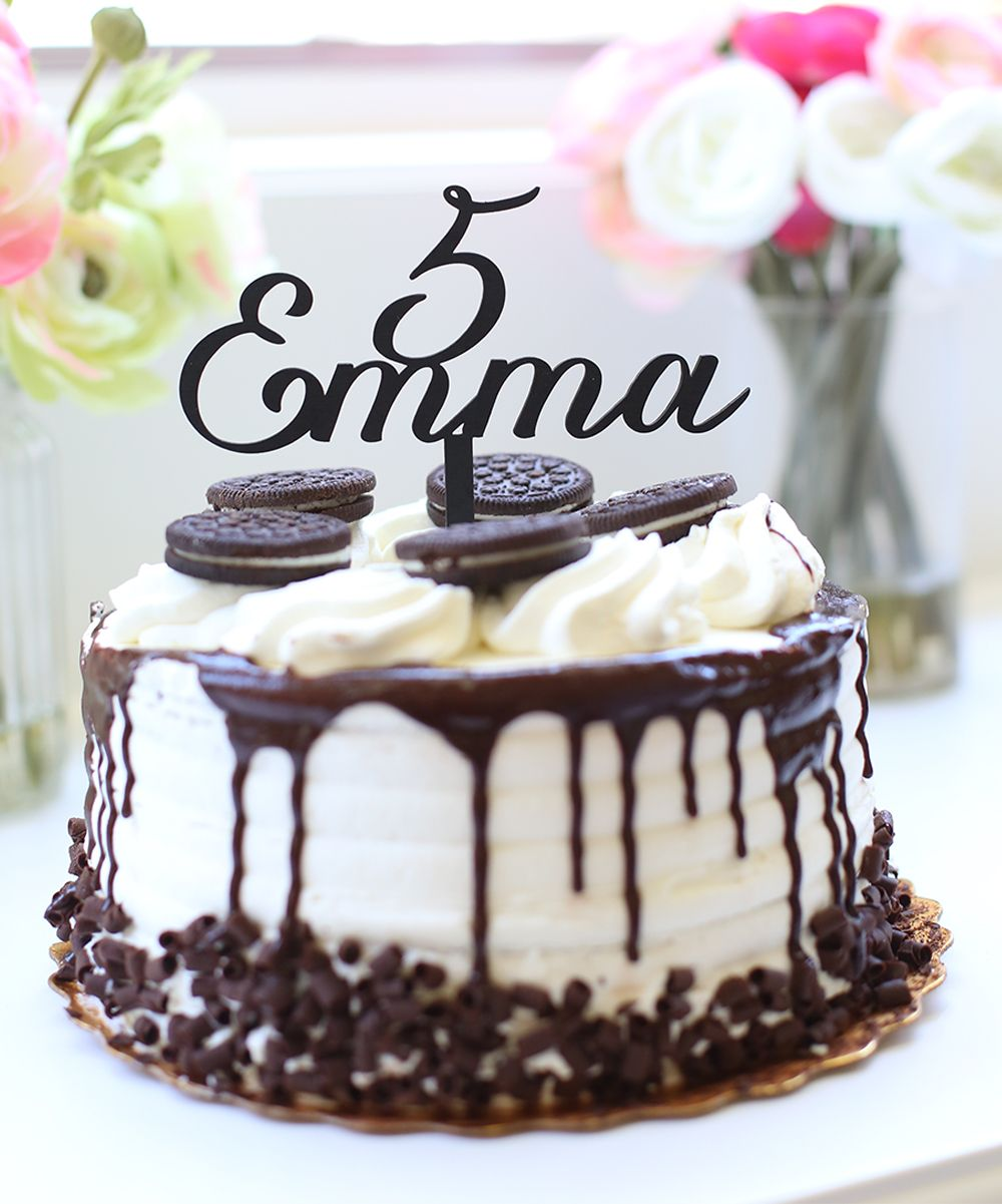 Personalized Cake Topper Personalized cake toppers, Cake