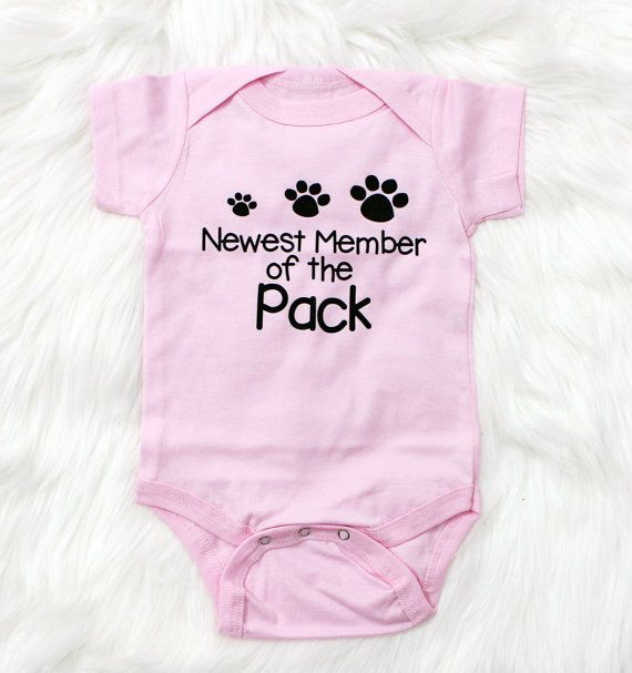 Newborn baby gift newest to the pack personalized baby gift newborn baby gift newest to the pack personalized baby gift cute baby clothes negle Images