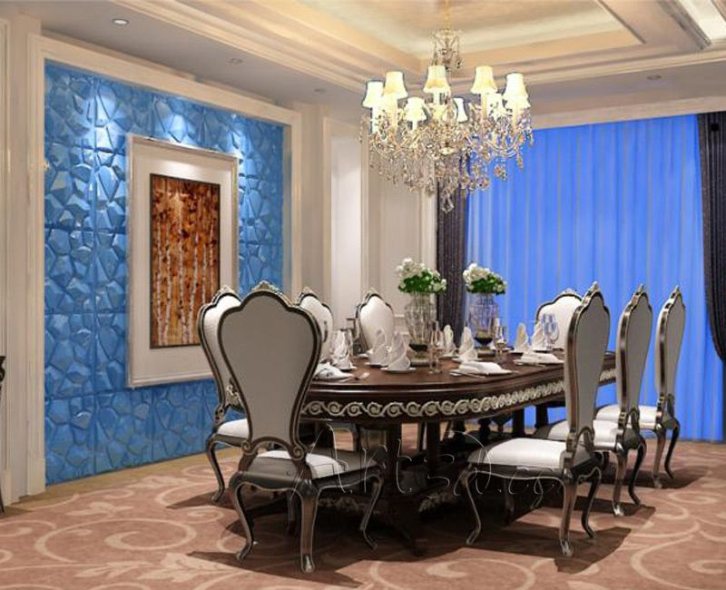 Dining Room Paneling Modern Wall