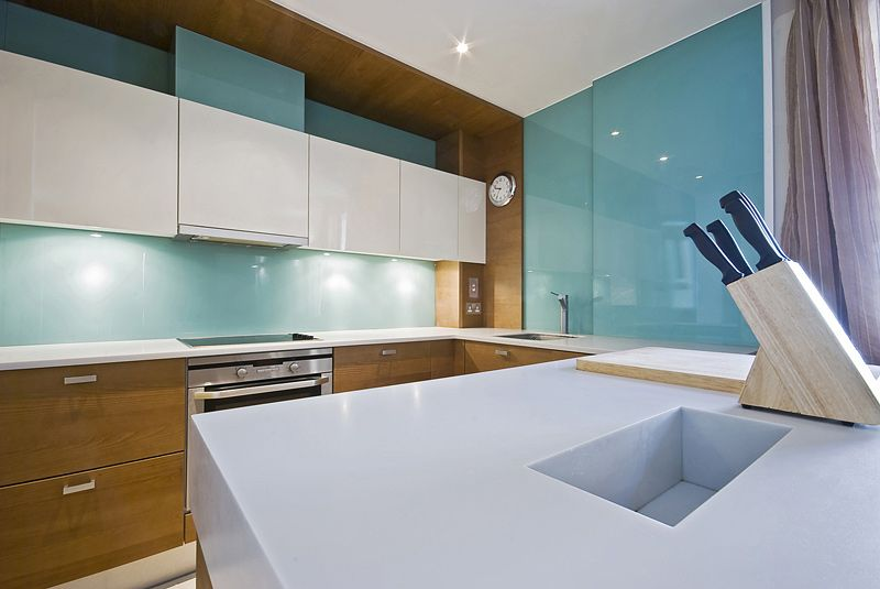 ºelement Designs Back Painted Glass Modern Kitchen Design
