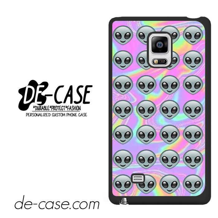 Psyhedelic Alien Emoji DEAL-8960 Samsung Phonecase Cover For Samsung Galaxy Note Edge